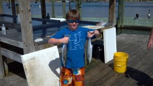 "This ""Cat"" caught a couple of nice Spanish mackerel on a trip with Navigator Inshore Charters in April. http://www.facebook.com/pages/Navigator-Inshore-Charters/153848117964326"