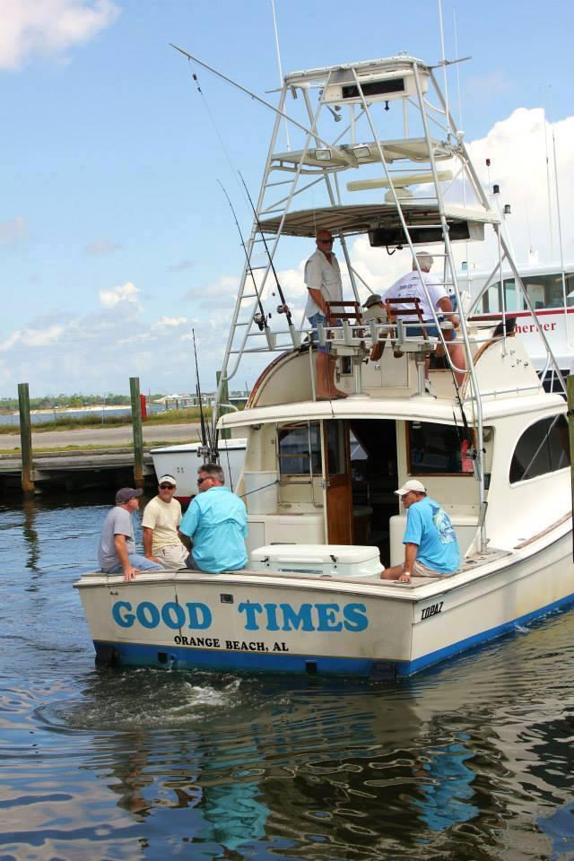 Orange beach fishing association the best captains to for Orange beach fishing